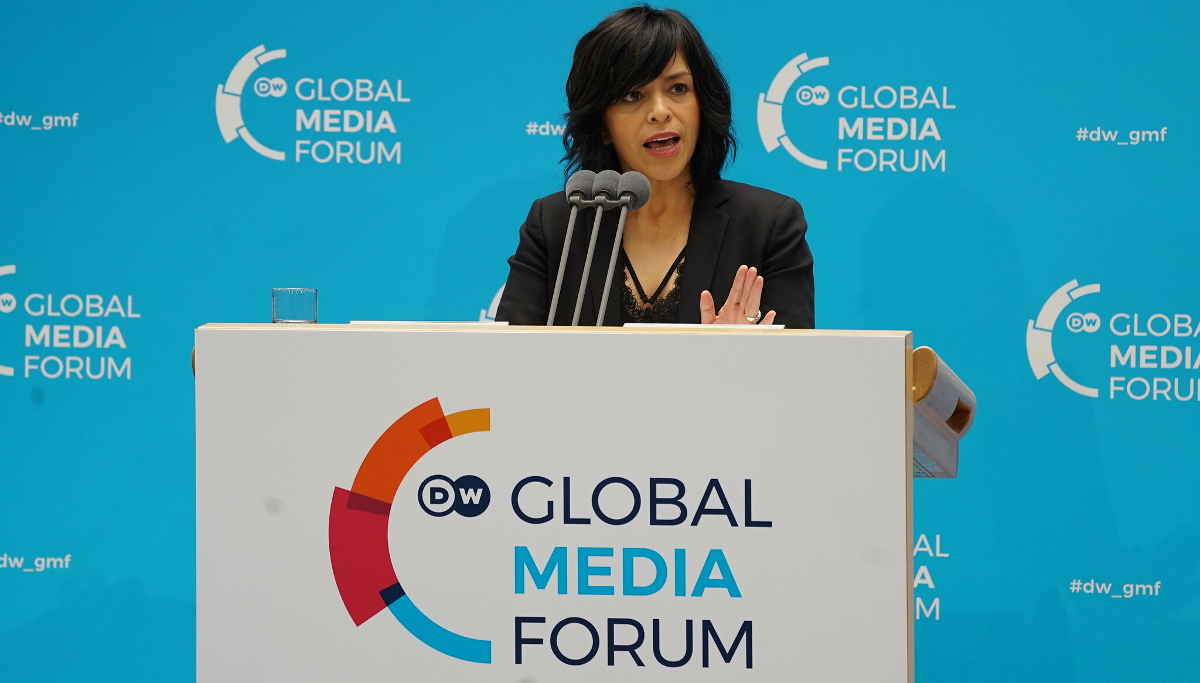 Anabel Hernández, DW Global Media Forum 2019