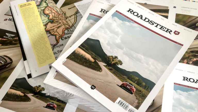 Roadster print magazin a Player Media kiadásában