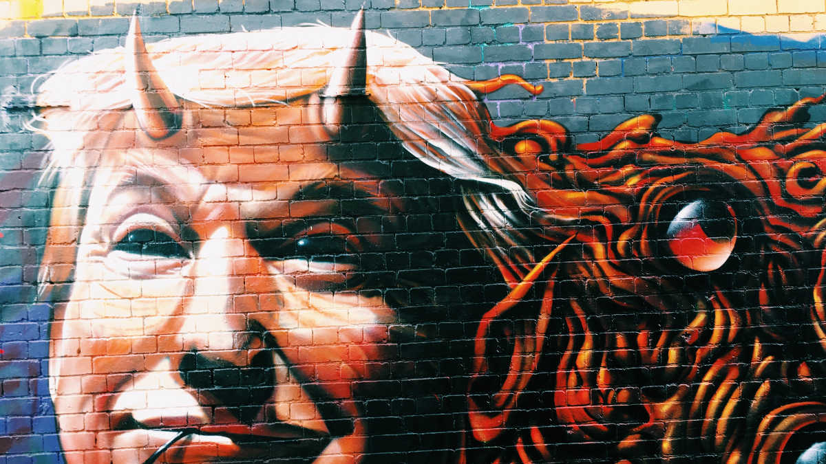 Donald Trump graffiti Fotó: Jon Tyson, Unsplash