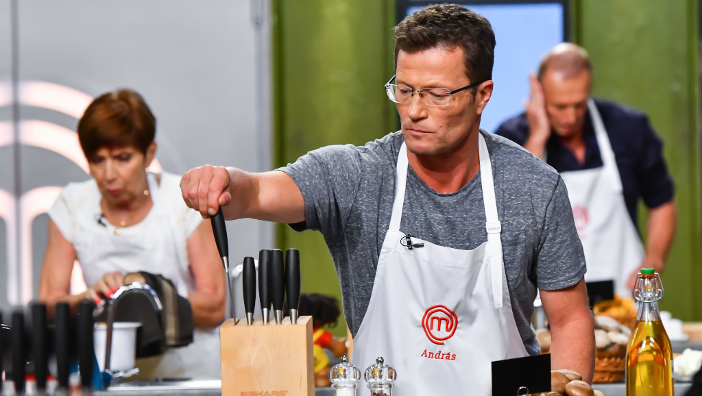 TV2 Masterchef VIP Stohl András