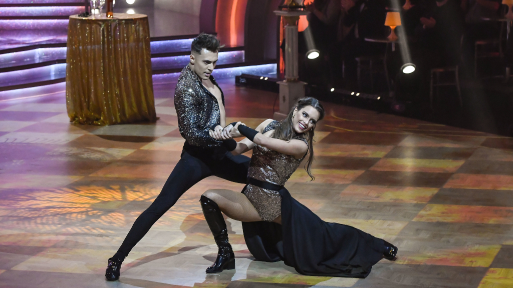 A Tv2 Dancing with the Stars c. műsorának jelenete