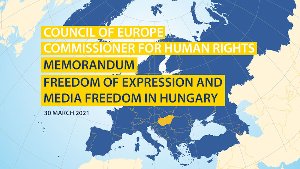 Council of Europe Commissioner for Human Rights,